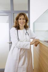Ärztin, Portrait