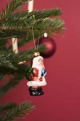 Weihnachtsmann-Figur, Christbaumschmuck