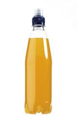 Flasche orange Flüssigkeit
