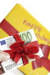 Geldgeschenk für Geburtstag
