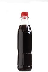 Flasche braunener Flüssigkeit
