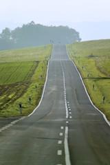 Deutschland, Bayern, leere Straße