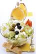 Griechischer Salat mit Feta-Käse