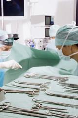 Chirurgie-Team bei der Arbeit