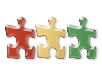 Puzzle-Stücke