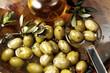 frischen Oliven