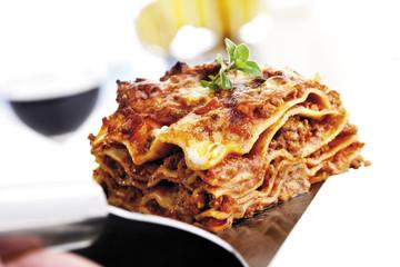 Stück Lasagne