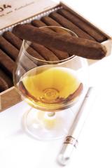Cognac und Zigarren