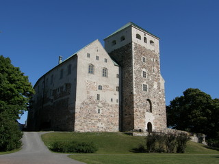 13th-century castle in Turku (Abo), Finland