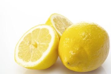 Frische Zitronen, Nahaufnahme