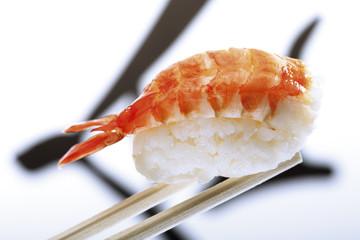 Nigiri-Sushi mit Garnelen