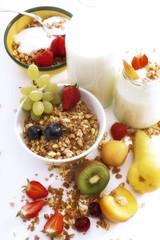 Müsli mit Früchten