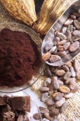Kakao und Schokoladenartikel