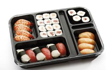 Sushi to-go, Nahaufnahme
