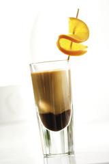 Latte Macchiato mit Schokoladenlikör