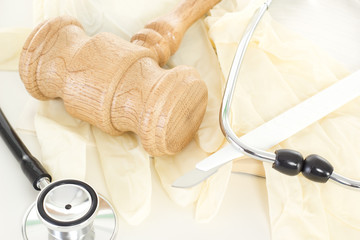 Conducting lawsuit in health law