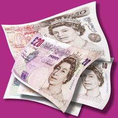 Englische Pfund / Englisch-Pfund-Note