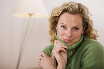 Ältere Frau, Portrait