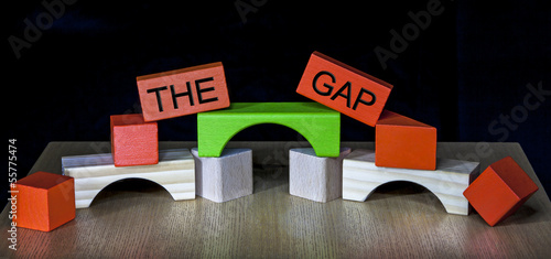 Bridging the Gap - business, education, meeting, PR, politics -