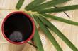 Grüner Tee, asiatischer Stil