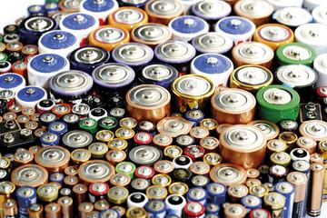 Verschiedene Batterien