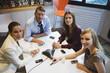 Geschäftsleute in einer Sitzung