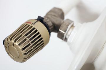 Thermostat auf Heizung