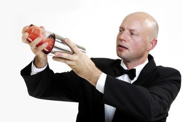 Barkeeper prepairing Cocktail