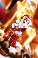 Schokoladen-Weihnachtsmann