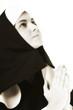 Betende Nonne, Portrait