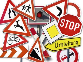 Verkehrszeichen, Nahaufnahme