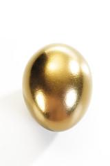 Goldenes Ei, erhöhte Ansicht, Nahaufnahme