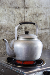 Aluminum tea kettle