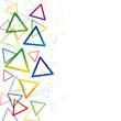 Vector illustration triangle