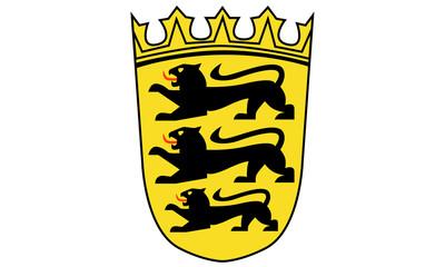 Button Wappen von Baden Württemberg