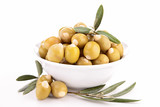 isolated olive