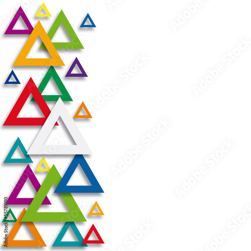 Vector illustration triangle