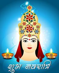 Navratri Card Design