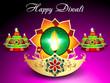 Diwali Background With Sparkle