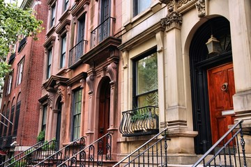 New York townhouse in Turtle Bay district