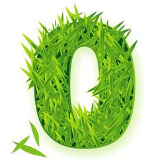 Grass vector numbers. Zero.