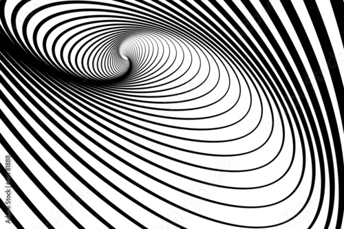 Spiral whirl movement. Abstract background.
