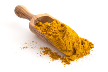 Schaufel Currypulver