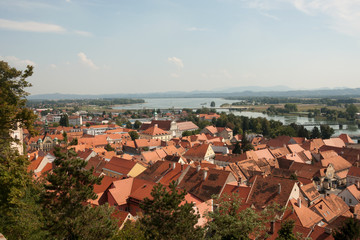 Ptuj - Panorama from the Castle
