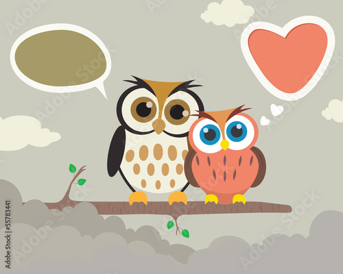 Couple Owl