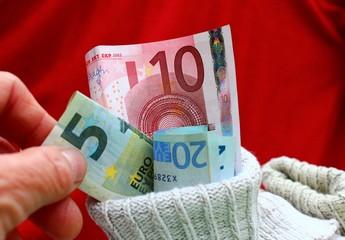 geld im socken