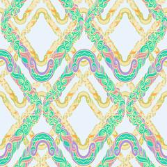 geometrical barocco pattern