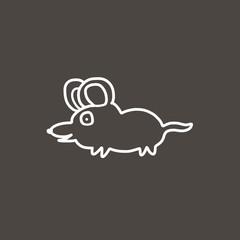mouse cartoon sketch