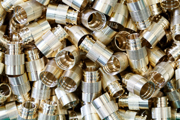 Screws, Nuts Round Type