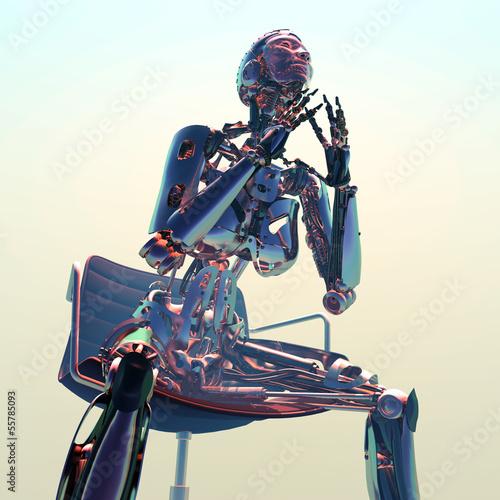Fototapeta The robot